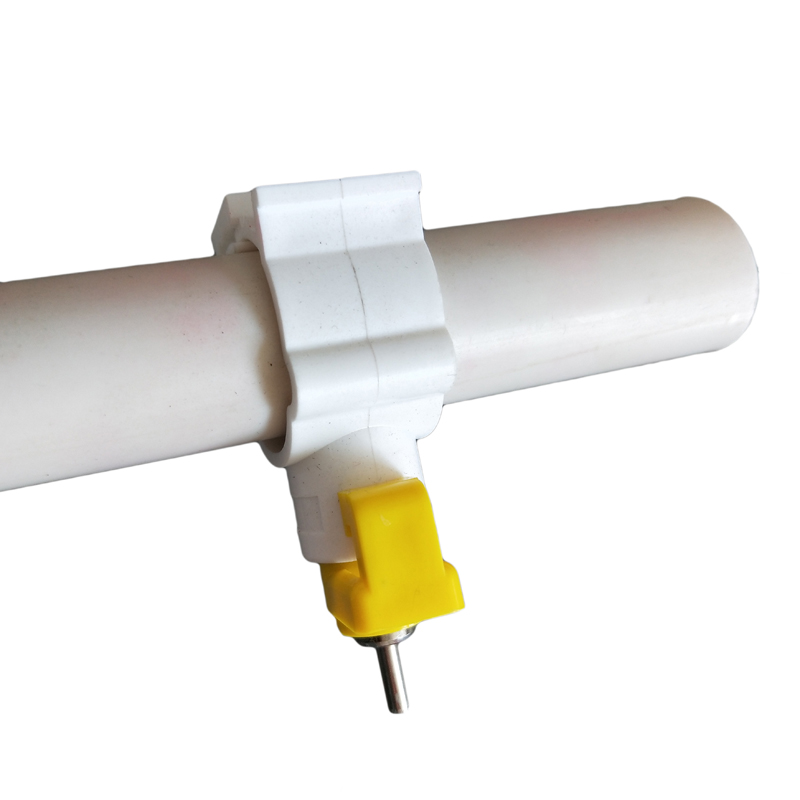 Broiler Nipple Drinker With Clamp for Poultry Water System PH-21